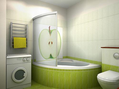 Дизайн ванных комнат маленького размера фото » Картинки и ...
