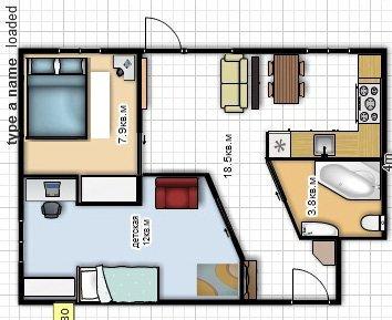 Как перепланировать 4-х комнатную хрущевку » Картинки и ...