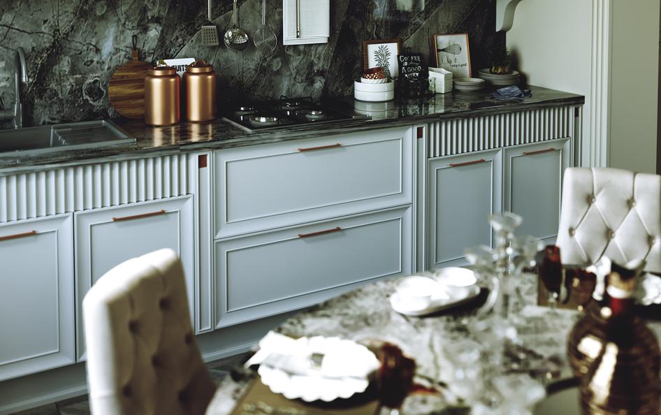 Кухня AVANCE в стиле арт деко фото 1