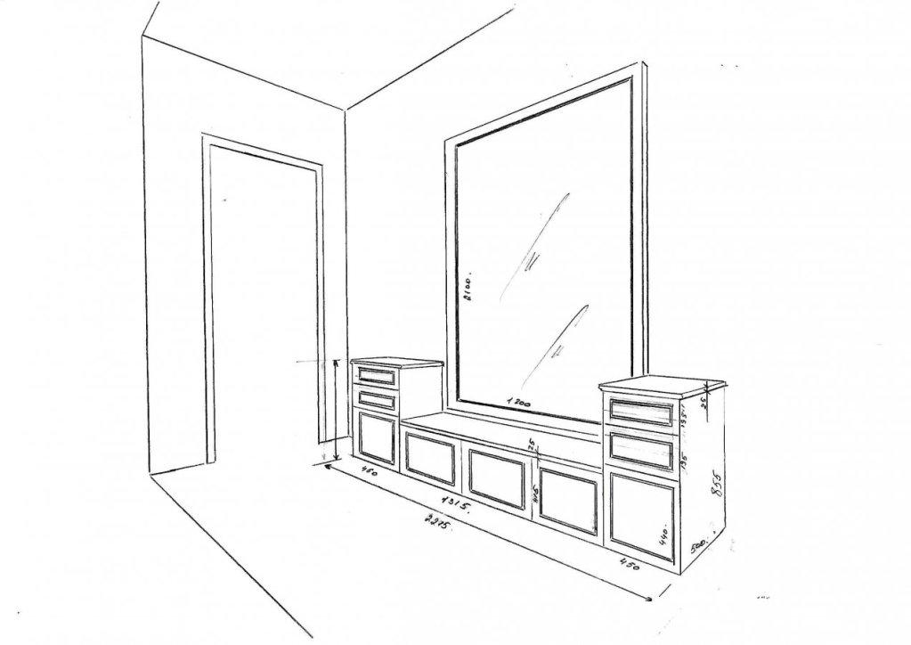 Предварительный эскиз шкафа Tilburg Tilburg №2