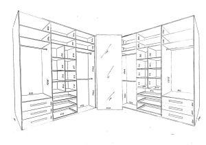 Эксклюзивный подход к проектированию гардеробных комнат