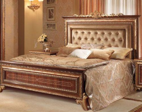 Кровать 110*190 с тканью на на изголовье