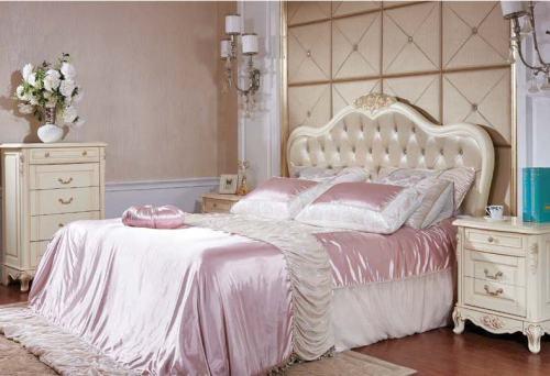 Кровать 160*200 без изножья (изголовье - бежевая экокожа)