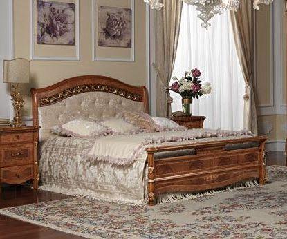 Кровать 180*200 с мягким изголовьем