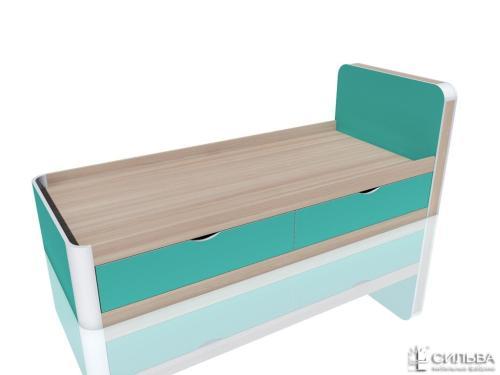 Кровать 800х190 Аква