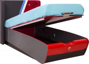 Кровать 90x190 с подъемным механизмом