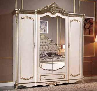 Marcella Шкаф 4-х дверный без зеркал