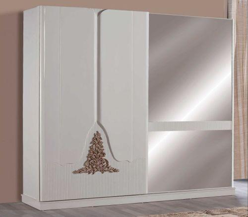 Шкаф 2-х дверный с сейфом Мерида
