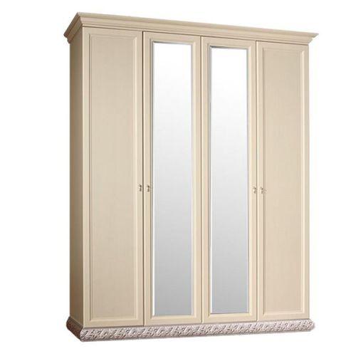 Шкаф 4-х дв. (2 зеркала) для платья и белья