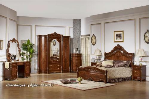 Спальный гарнитур Патриция - Спальни