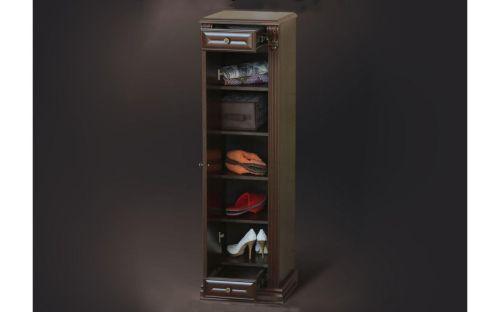 Обувница стойка Б5.16-3 Орех