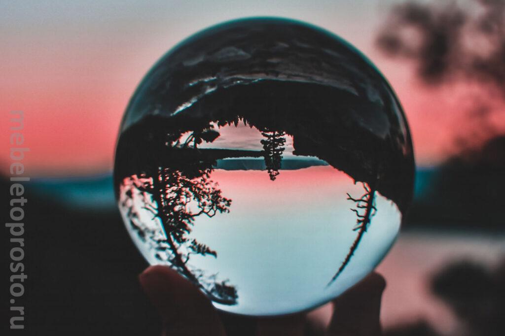 الزجاج الاكريليك - صورة بالون