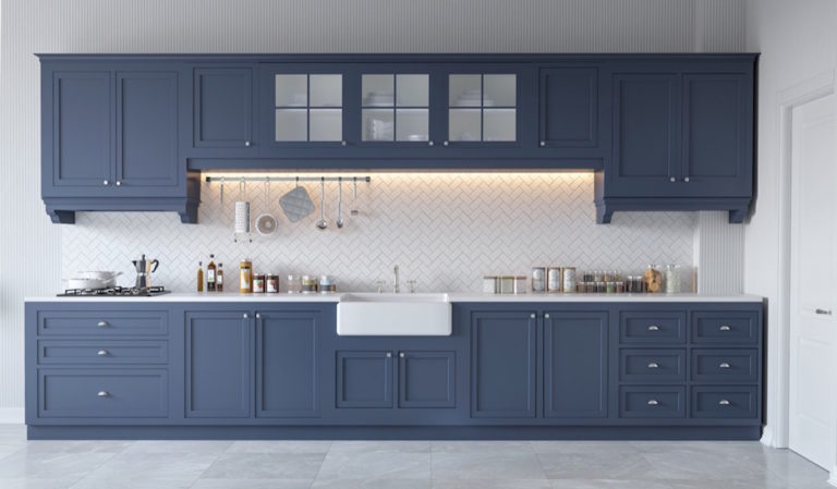Blue-one-wall-kitchen-mebelux