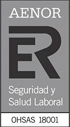 Logo aenor Seguridad y Salud Laboral