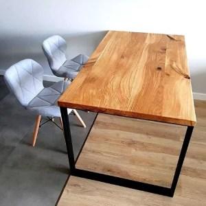 stół dębowy 120x80
