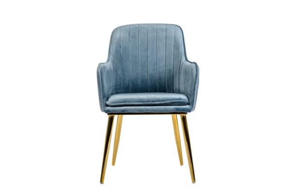 krzesło do jadalni niebieskie