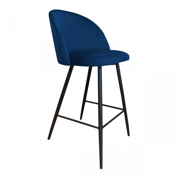 krzesło hokerowe granatowe vito