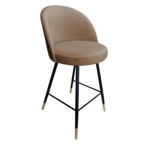 krzesło hokerowe brązowe trix