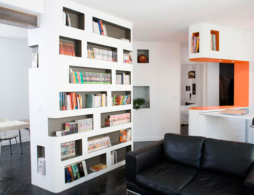 Гипсокартон - отличный материал для создания мебели и перегородок