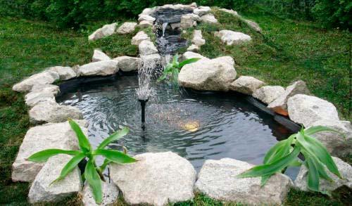Для фонтана с постоянным уровнем струи лучше установить напорный резервуар