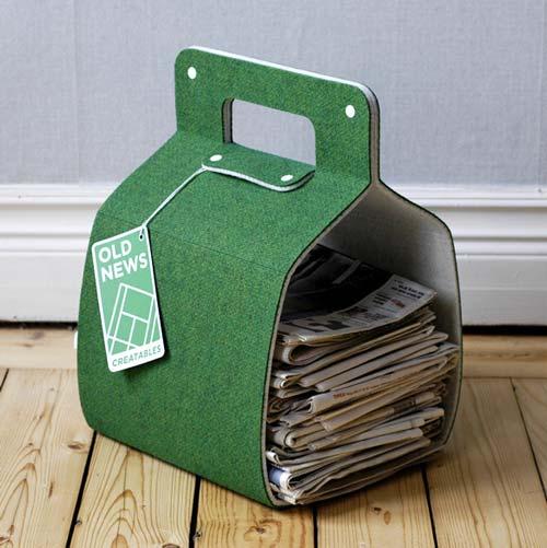 10 способов хранения старых газет.