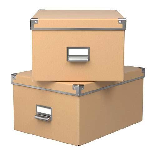 Хранение в коробках