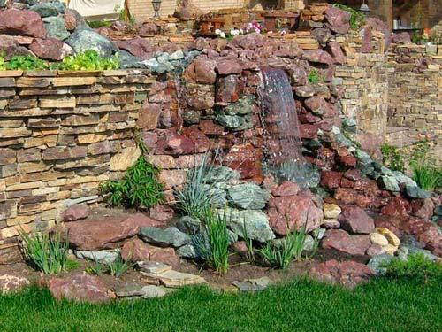 Фонтан для классического сада