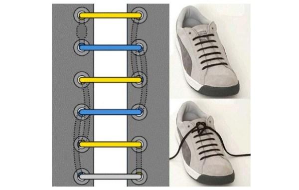 Как зашнуровать кроссовки: 10 способов на каждый день ...