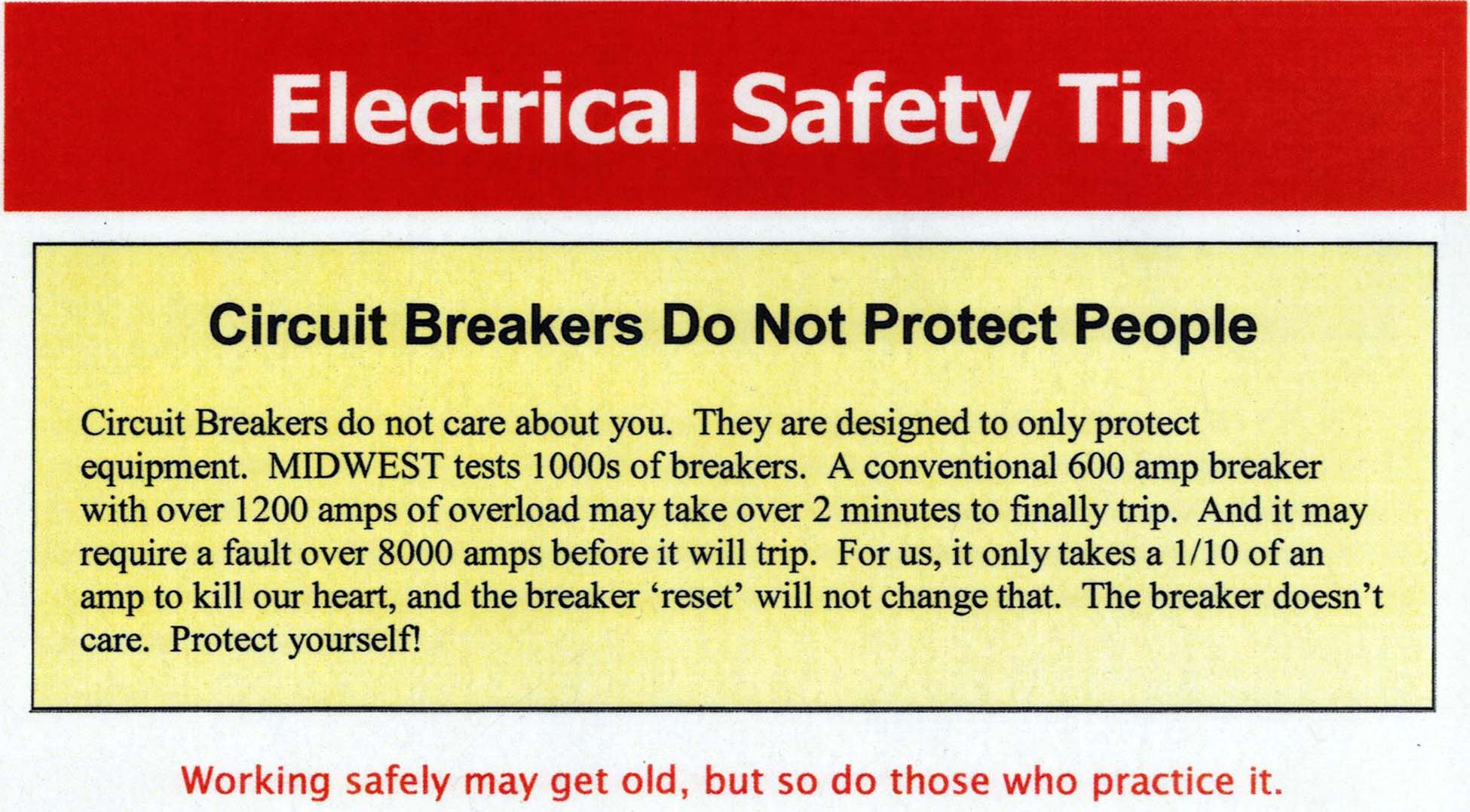 Electrical Safety Tip Circuit Breakers Meca1953 Working Of
