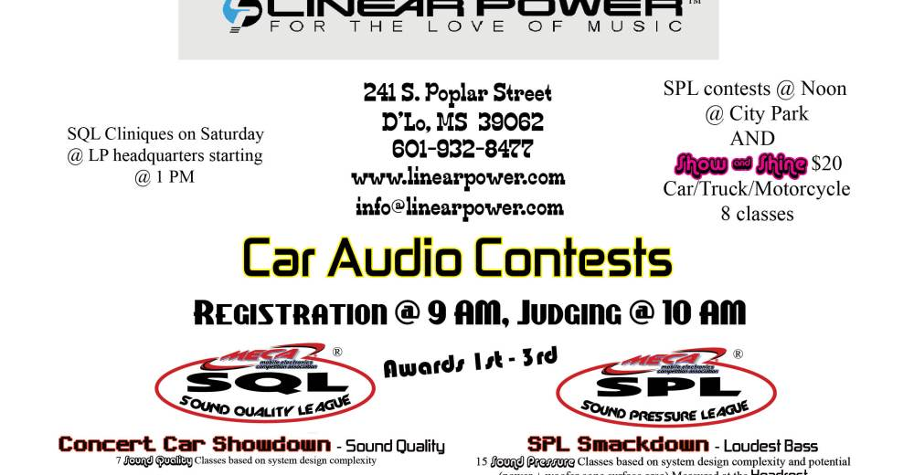 USA Shows This Weekend MECA Mobile Electronics Competition - Meca car show