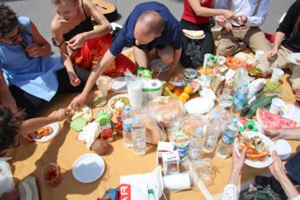 Pic-nic in Budapest