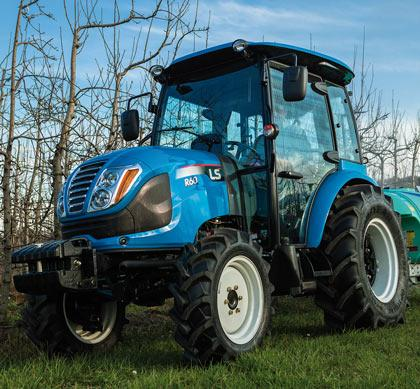 LS Tractor R60 Cabinado
