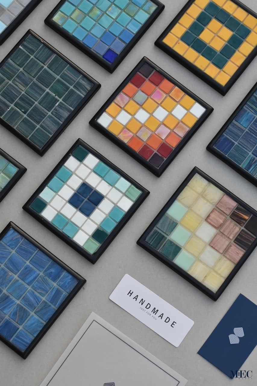the perfect grout for glass mosaic art