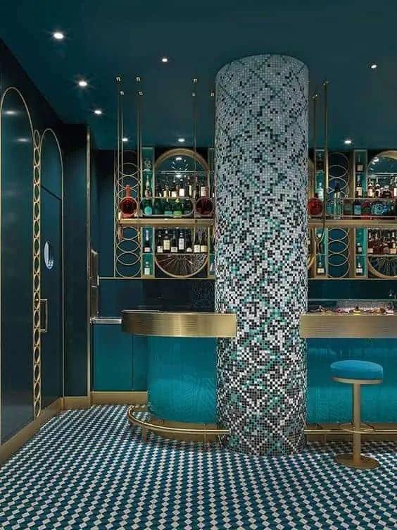 mosaic tiles for 3d surfaces