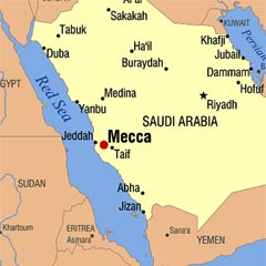 Where Mecca is - Map of Mecca online - knowing Mecca meccamedina.net