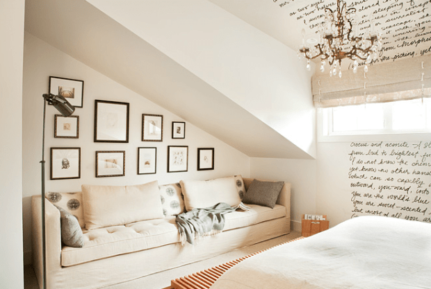 Admirable How To Design Around Your Sloped Ceiling Home Interior And Landscaping Dextoversignezvosmurscom