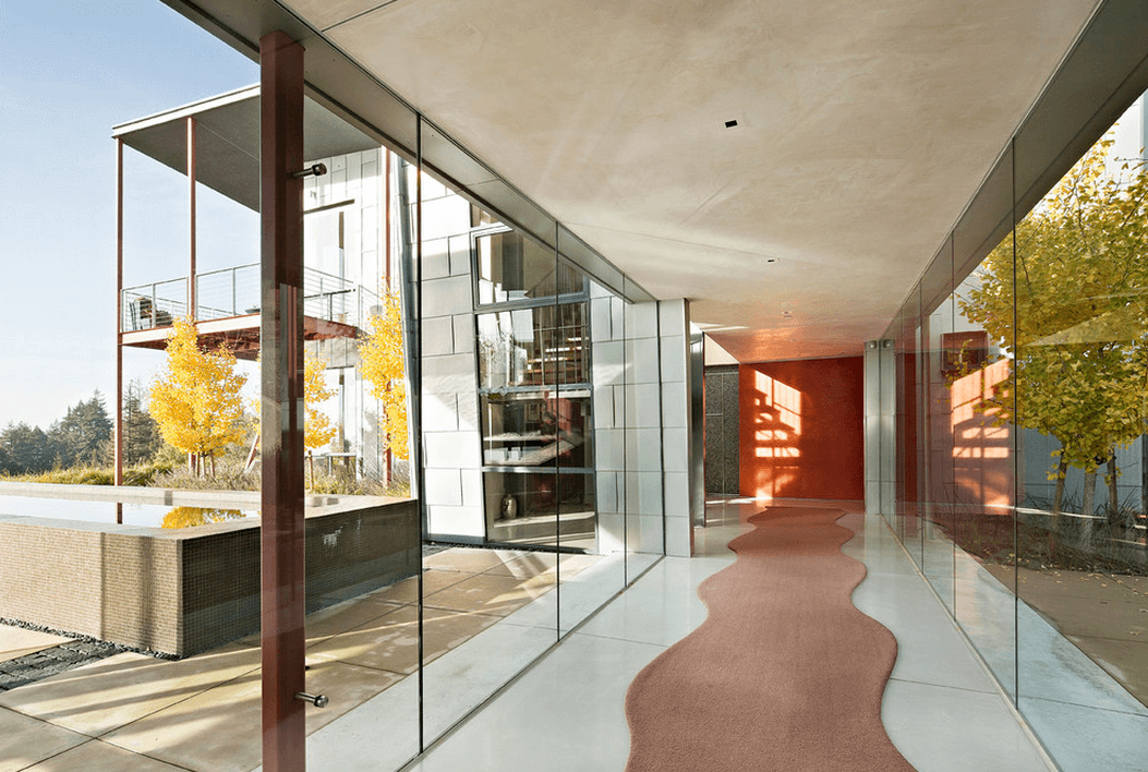 23 glass walkways that open homes and expand views