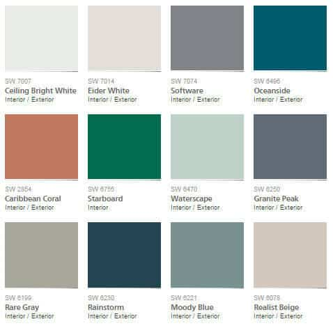 pottery barn s/s 2016 colour palettes | @meccinteriors | design bites