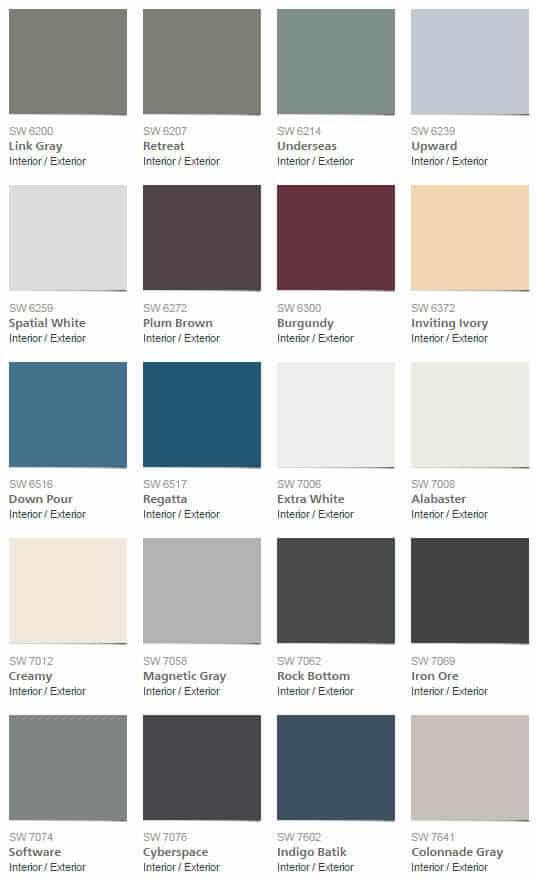 Pottery Barn F W 2016 Colour Palettes Mecc Interiors Inc