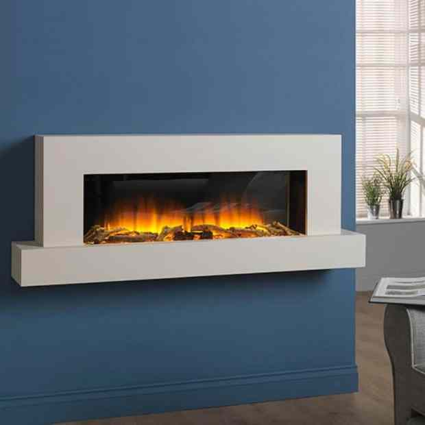View Chimney Free Electric Fireplace  JPG