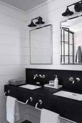 15 crisp, clean, classic interiors in black and white | @meccinteriors | design bites