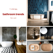 5 emerging bathroom trends for 2017