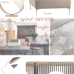 tuesday trending: your spring 2017 high point market style guide | @meccinteriors | design bites