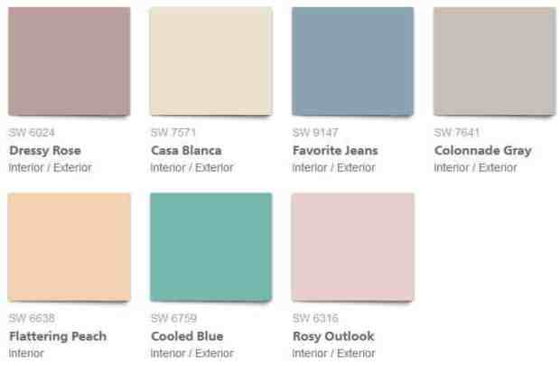 150 years of interior paint colour love | @meccinteriors | design bites