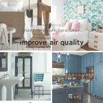 how 4 interior paints that actually improve air quality | @meccinteriors | design bites