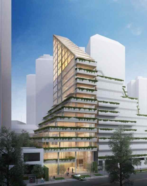 a look at the world's tallest hybrid timber building | @meccinteriors | design bites