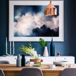a blue dining room shares healthy benefits | @meccinteriors | design bites