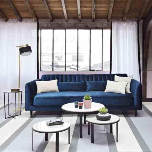 Parisian interiors with intense bright timeless colour - La redoute interieur ...