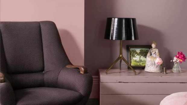 heart wood is a beautiful warm pink   @meccinteriors   design bites