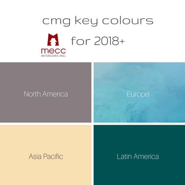 4 important international colours for 2018+   @meccinteriors   design bites